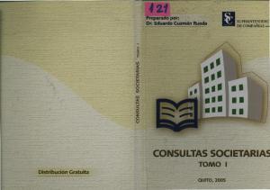 CONSULTAS SOCIETARIAS