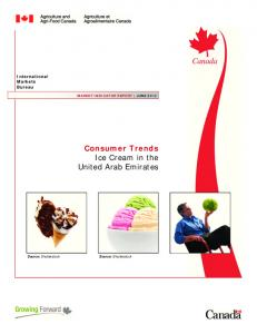 Consumer Trends Ice Cream in the United Arab Emirates