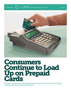 Consumers Continue to Load Up on Prepaid Cards
