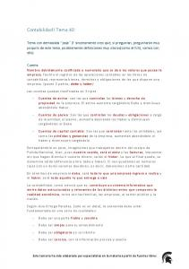 Contabilidad I Tema 40