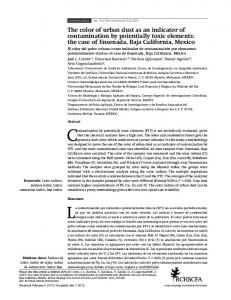 Contamination by potentially toxic elements (PTE) is not periodically evaluated, given