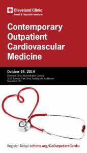 Contemporary Outpatient Cardiovascular Medicine