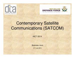 Contemporary Satellite