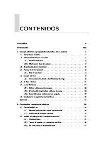 CONTENIDOS. Contenidos. Presentación. xiii