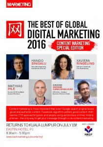 CONTENT MARKETING SPECIAL EDITION