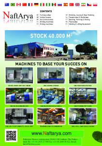 CONTENTS. 02 Turning lathes 08 Vertical borers 09 Horizontal borers 11 Drilling machines 12 Milling machines STOCK M 2