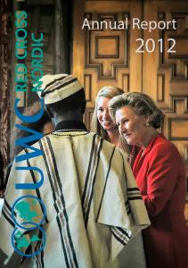Contents. About UWC. Annual Report 2012