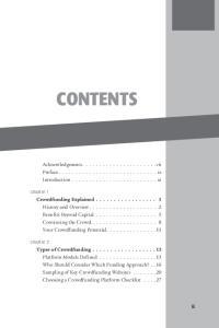 CONTENTS. Acknowledgments... vii Preface... ix Introduction... xi