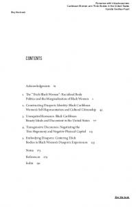 Contents. Acknowledgments