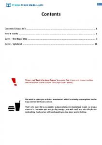 Contents. Contents & Basic Info How It Works... 2