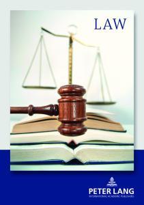 Contents. Criminal Law Strafrecht. Private Law Privatrecht. Labor Law Social Law Arbeitsrecht Sozialrecht. Company Law Wirtschaftsrecht