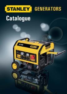 CONTENTS. Generators SG 2200 SG 3000 SG 4200 SG 5500 SG 6500 SG 7500 SG 3200 E-SG 2200 E-SG 4000
