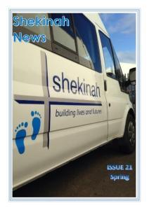 Contents. John Hamblin. Chief Executive Shekinah. Getting the right balance Page 2