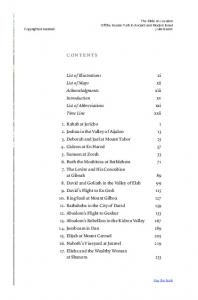 CONTENTS. List of Illustrations List of Maps Acknowledgments Introduction List of Abbreviations