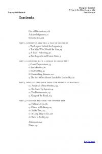 Contents. List of Illustrations, viii Acknowledgments, xi Introduction, xiii