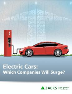 Contents. Overview 3. Electric Vehicle Technology 4. Lithium-Ion Batteries 7. Tesla 10. The Future of the Electric Vehicle 14