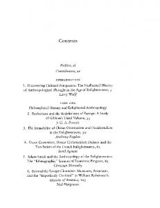 Contents. Preface, xi Contributors, xv INTRODUCTION