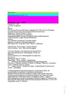Contents, Vol. 7, 1997