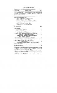 Contents. Vol. XXVII Summer, 1963 No. 2. EDITORIAL COMMITTEE ERICH H. HEINTZEN, Editor (on kave) HEINO 0. KADAI, Acting Editor