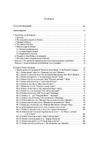 Contents. Vorwort des Herausgebers... xiii. Acknowledgments