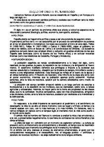 CONTEXTO SOCIOCULTURAL Y MENTALIDAD BARROCA