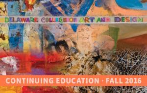 CONTINUING EDUCATION FALL 2016