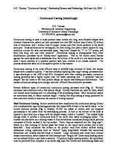 Continuous Casting (metallurgy)