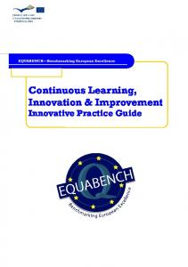 Continuous Learning, Innovation & Improvement