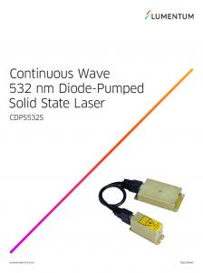 Continuous Wave 532 nm Diode-Pumped Solid State Laser CDPS532S