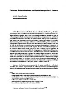 Contornos da Narrativa Breve na Obra de Branquinho da Fonseca