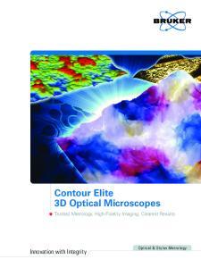 Contour Elite 3D Optical Microscopes