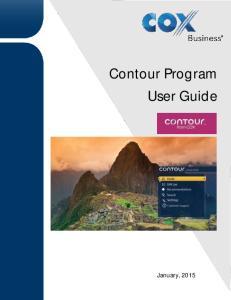 Contour Program User Guide