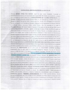 CONTRATO DE ARRENDAMIENTO DE LA OFICINA 301