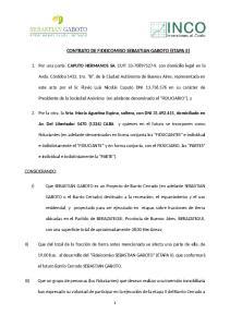 CONTRATO DE FIDEICOMISO SEBASTIAN GABOTO (ETAPA II)