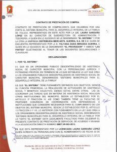 CONTRATO DE PRESTACION DE COMPRA