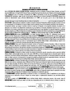 CONTRATO DE PRESTACION DE SERVICIOS EDUCATIVOS