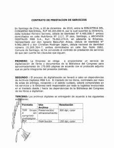 CONTRATO DE PRESTACION DE SERVICIOS PERSONALES