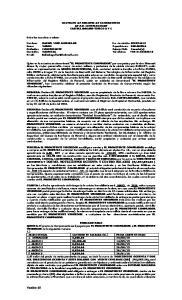 CONTRATO DE PROMESA DE COMPRAVENTA DE P.H. CASTELAMMARE CASTELLAMMARE-TIPICO A Y C