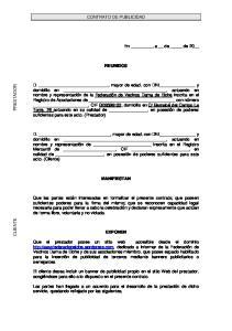 CONTRATO DE PUBLICIDAD REUNIDOS