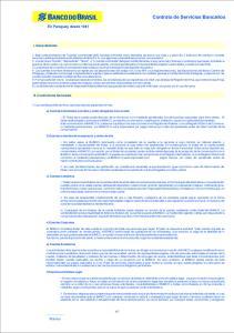 Contrato de Servicios Bancarios