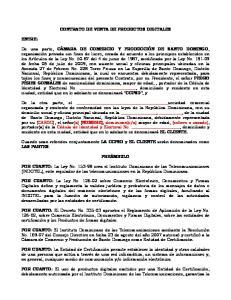 CONTRATO DE VENTA DE PRODUCTOS DIGITALES