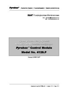 Control Module Model No P