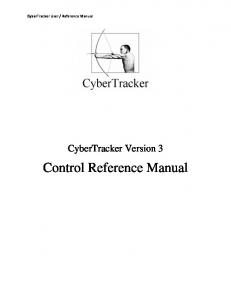 Control Reference Manual