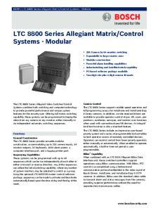 Control Systems - Modular