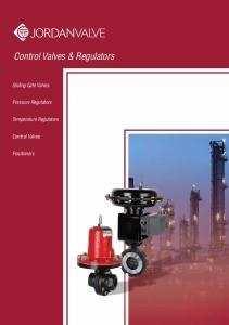 Control Valves & Regulators