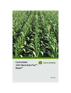 Controlador John Deere AutoTrac - Raven PFP11783