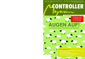 CONTROLLER AUGEN AUF! Arbeitsergebnisse aus der Controller-Praxis
