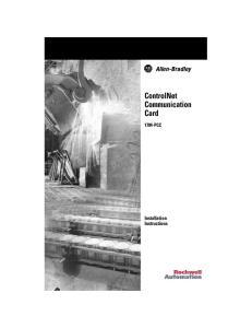 ControlNet Communication Card