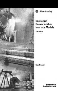 ControlNet Communication Interface Module