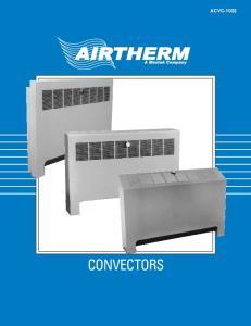 CONVECTORS ACVC-1002